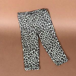 Carters cheetah leggings